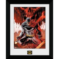 Batman Seeing Red - 30 x 40cm Collector Prints
