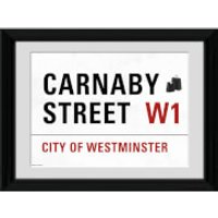 London Carnaby Street - 30 x 40cm Collector Prints