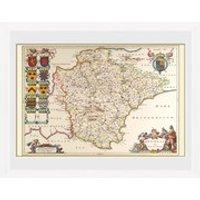 Maps Devon - 30 x 40cm Collector Prints
