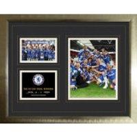 Chelsea FA Cup Winners 11/12 - High End Framed Photo - 16 x 20