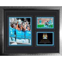 Manchester City FA Cup Win 2010 - 2011 - High End Framed Photo - 16 x 20