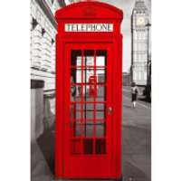 London Telephone Box - Maxi Poster - 61 x 91.5cm
