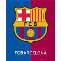 Barcelona Crest - Mini Poster - 40 x 50cm