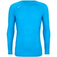 Skins Mens 360 Long Sleeve Tech Process Top - Blue - S