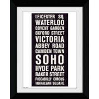 London Locations - Collector Print - 30 x 40cm