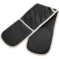 Morphy Richards 973512 Double Oven Glove - Black - 18x88cm