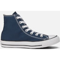 Converse Unisex Chuck Taylor All Star Canvas Hi-Top Trainers - Navy - UK 6