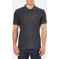 J.Lindeberg Mens Rubi Slim Fit Polo Shirt - Dark Grey Melange - XL