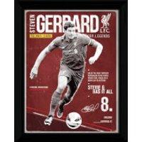 Liverpool Gerrard Retro - 16x12 Framed Photographic