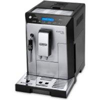 DeLonghi Eletta Plus Bean-to-Cup Coffee Machine - Silver/Black