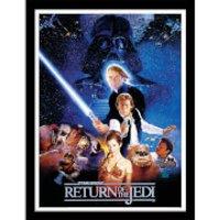 Star Wars Return of the Jedi One Sheet - Framed 30x40cm Print