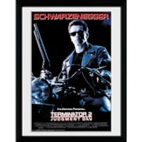 Terminator 2 One Sheet - Framed Photographic - 16 x 12inch