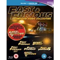 Fast & Furious 1-6 With Sneak Peek