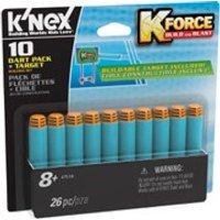 KNEX K Force 10 Dart Pack and Target (47518)