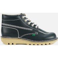 Kickers Mens Kick Hi Leather Boots - Navy - UK 10/EU 44