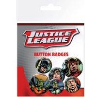 Justice League League - Badge Pack