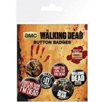 Walking Dead Phrases - Badge Pack