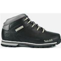 Timberland Mens Euro Sprint Hiker Boots - Black Smooth - UK 9