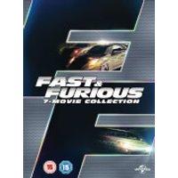 Fast & Furious 1-7 Boxset