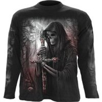 Spiral Mens SOUL SEARCHER Long Sleeve T-Shirt - Black - XL