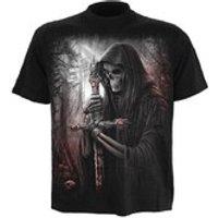 Spiral Mens SOUL SEARCHER T-Shirt - Black - L
