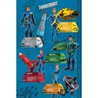Thunderbirds Are Go Profiles - Maxi Poster - 61 x 91.5cm