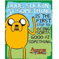 Adventure Time Suckin - Mini Poster - 40 x 50cm