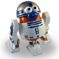 Star Wars Mr. Potato Head R2-D2 Action Figure