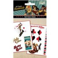 DC Comics Batman Harley Quinn Bombshell - Tattoo Pack