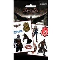DC Comics Batman Arkham Knight Characters - Tattoo Pack