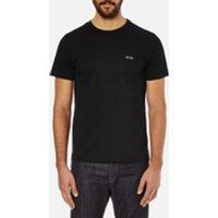 BOSS Green Mens Small Logo T-Shirt - Black - L