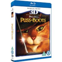 Puss in Boots 3D (Includes 2D version)