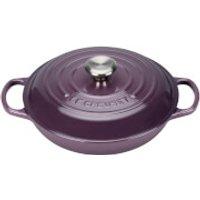 Le Creuset Signature Cast Iron Shallow Casserole Dish - 26cm - Cassis