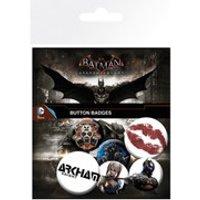 DC Comics Batman Arkham Knight Mix 2 Badge Pack