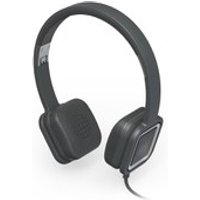 Ministry of Sound Audio On, On Ear Headphones - Charcoal and Gun Metal