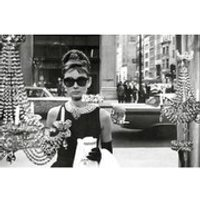 Audrey Hepburn Window - 24 x 36 Inches Maxi Poster