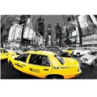 New York Times Square Yellow Cabs - 24 x 36 Inches Maxi Poster