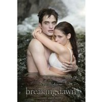Twilight Breaking Dawn Part 1 Edward and Bella In Water - 24 x 36 Inches Maxi Poster