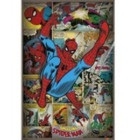 Marvel Comics Spider-Man Retro - 24 x 36 Inches Maxi Poster