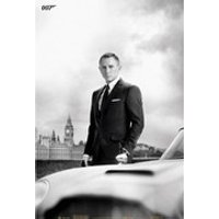 James Bond DB5 Skyfall - 24 x 36 Inches Maxi Poster
