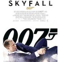 James Bond Skyfall White One Sheet - 16 x 20 Inches Mini Poster