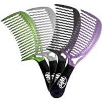 Wet Brush Handle Comb - Green