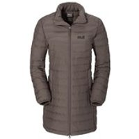 Jack Wolfskin Womens Carmenville Insulated Coat - Siltstone - S/UK 8-10
