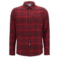 Jack Wolfskin Mens Convection Long Sleeve Shirt - Dried Tomato - L