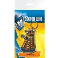Doctor Who Dalek Illustration - Keychain