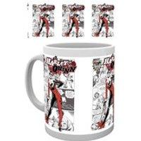 DC Comics Batman Harley Quinn Comic - Mug