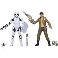 Star Wars: The Force Awakens The Black Series Poe Dameron and Stormtrooper Exclusive 2-Pack Action Figures
