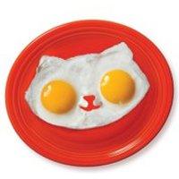 Kitty Egg Mould - White