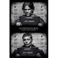 Supernatural Mug Shots - 24 x 36 Inches Maxi Poster