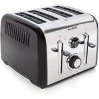 Breville VTT717 Aurora 4 Slice Toaster - Stainless Steel
